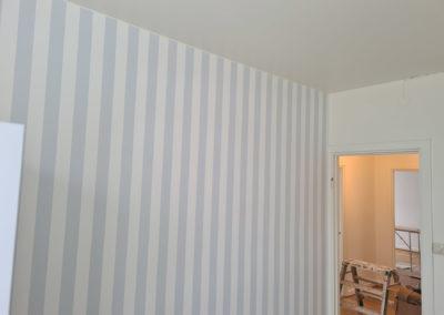 Helmålning av 3 rums 60-tals lägenhet Nynäshamn